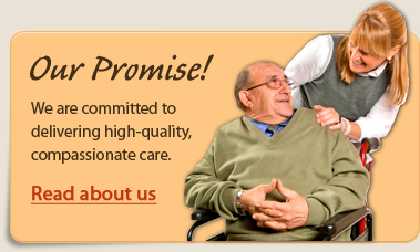 Our Promise: We are committed to delivering high-quality, compassionate care.