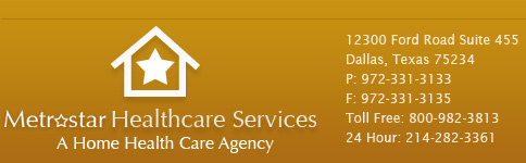 Metrostar Healthcare Services, A Home Health Care Agency. 1616 Flagstone Ln, Little Elm TX 75068-6407. Call 214-282-3361
